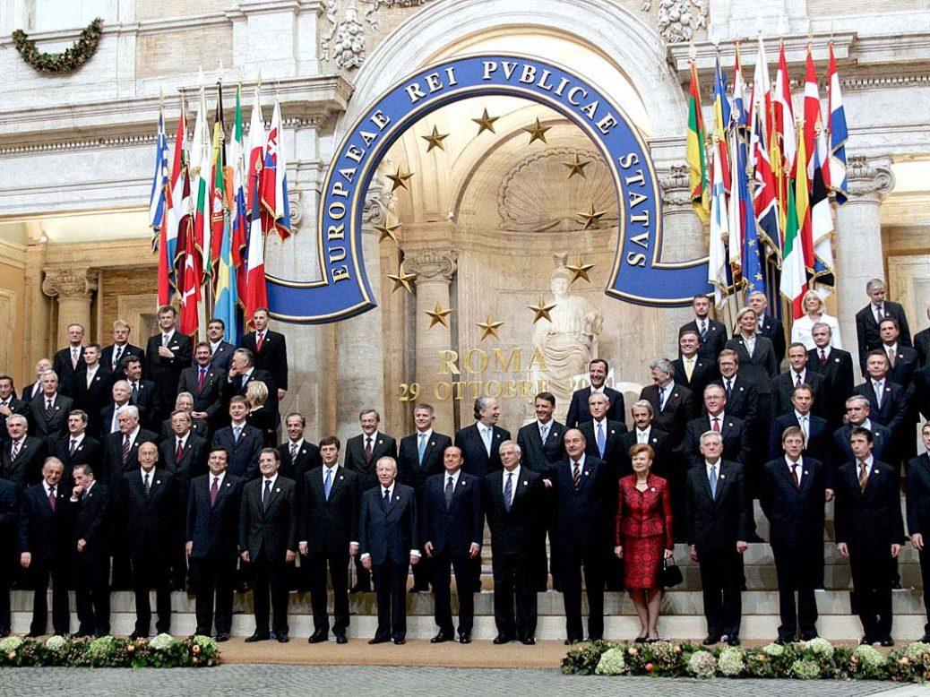 Ευρωπαϊκή Ένωση, βασικό πολιτικό πλαίσιο και προοπτικές  (;)