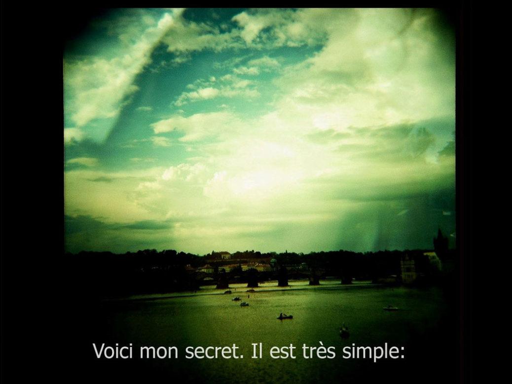 Here's my secret…