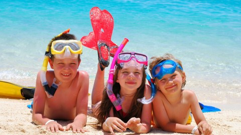 Greek children at the beach: A survival guide