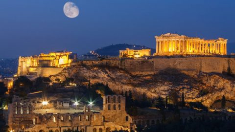 A stroll in ancient Athens