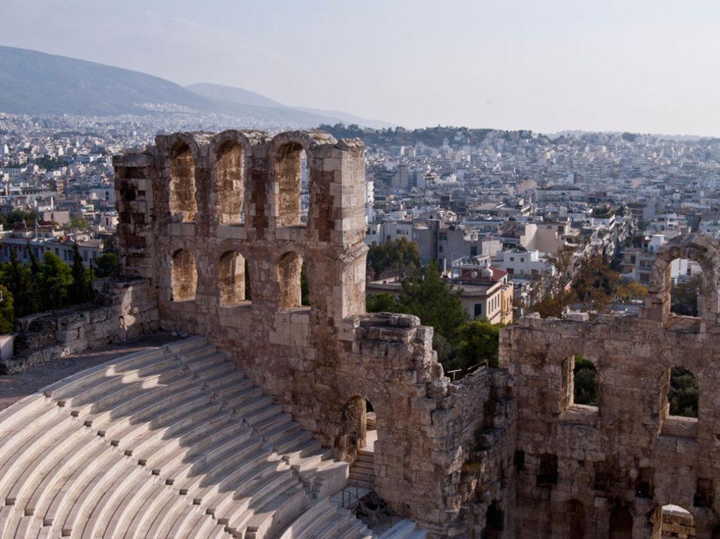 Βολτάροντας στην Αρχαία Αθήνα.